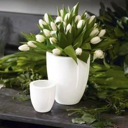 Vase céramique design blanc taste asa