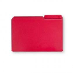 Planche à découper pliable rouge umbra chopfolder