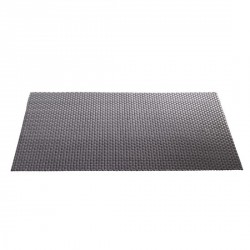 Set de table gris design tressé asa