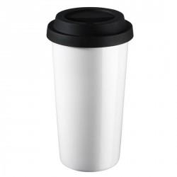 MUG CAFE DESIGN THERMOS ASA blanc