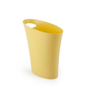 Poubelle jaune design umbra skinny can