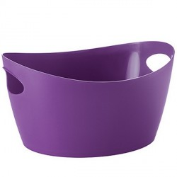 Panier plastique rangement violet koziol bottichelli M