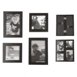 Cadre photo bois noir click present time PT0775BK
