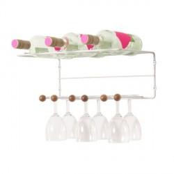 Range verres bouteilles suspendu saturnus present time