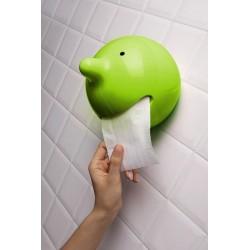 Porpaganda Mr P the Wiper Portarrolos para WC verde