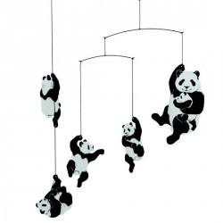 Mobile décoratif bébé panda Flensted