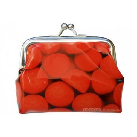 Porte-monnaie fraises tagada