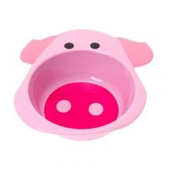 Bol plastique bébé rose pig PT0072