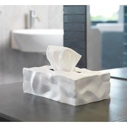 Boîte à mouchoirs design rectangulaire blanche essye wipy