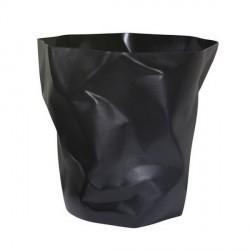 Poubelle noire design bin bin essey