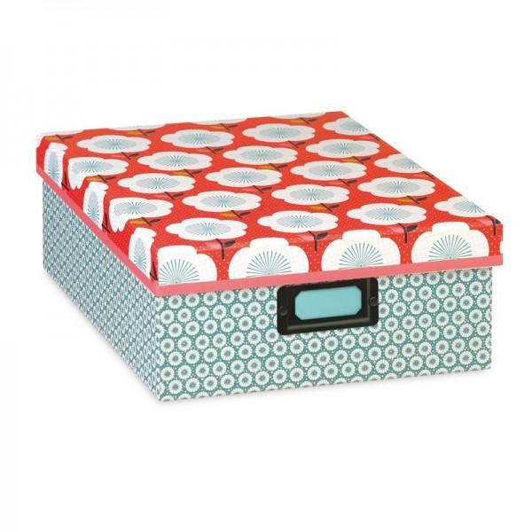 Super Marvelous Boite En Carton Deco #3: Boîte En Carton Rangement Déco  ZC87