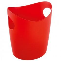 PANIER A LINGE DESIGN BOTTICHELLI XL rouge