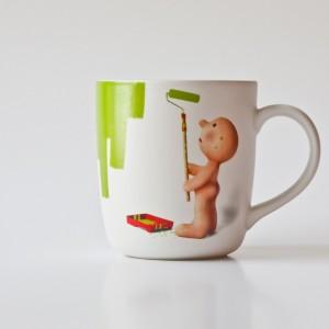 Tasse propaganda Mr P Please use another mug