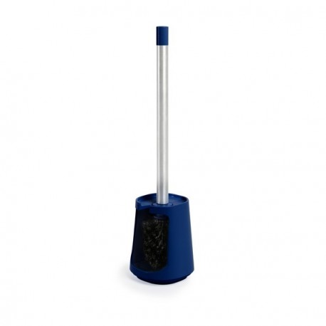 Brosse wc bleue design umbra step