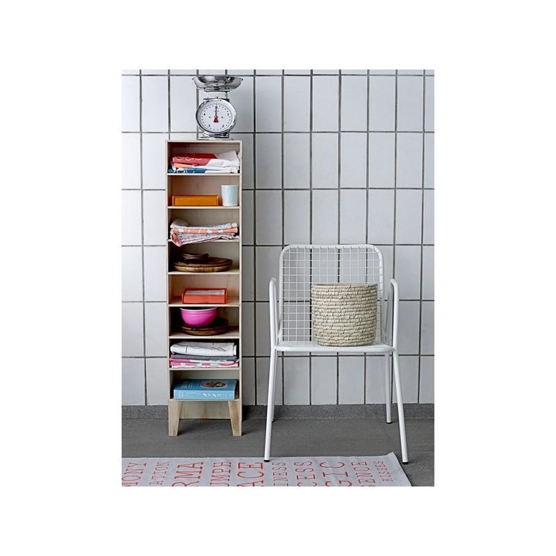 colonne de rangement tag res bois naturel bloomingville. Black Bedroom Furniture Sets. Home Design Ideas