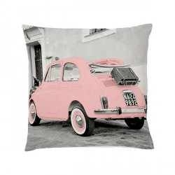Coussin fiat 500 rose bloomingville