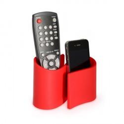 Range télécommande original design rouge snug j-me