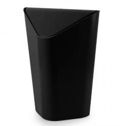 Poubelle d'angle noire design umbra corner