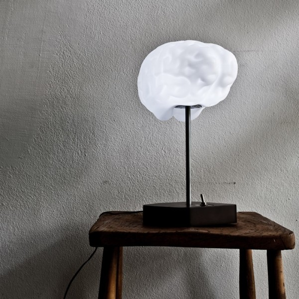 Lampe originale rigolo cerveau propaganda brain lamp - Lampe pipistrello originale ...