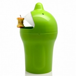 Propaganda Mr.P Be Happy Rubbish Bin green