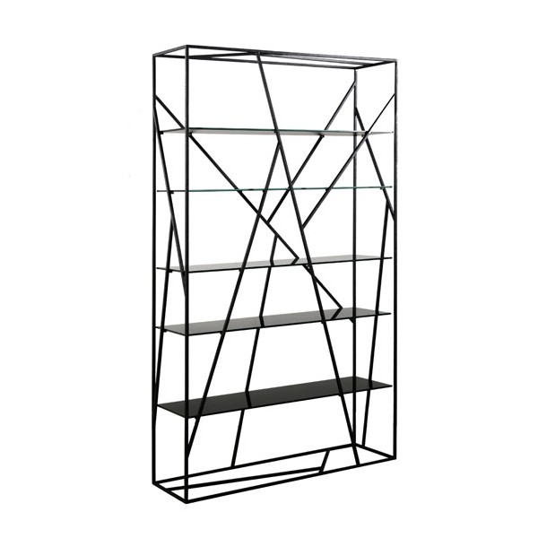 Tag re m tal verre design opus kdesign - Etagere metal design ...