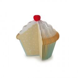 Mémo bloc-notes cupcake kikkerland