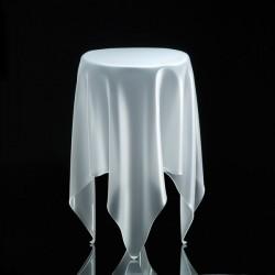 Table haute illusion essey ice
