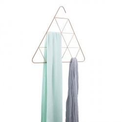 Cintre foulard umbra trianglescf cuivre