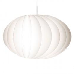 Suspension boule blanche vita disca