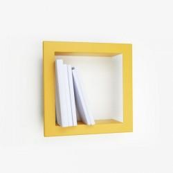 Presse Citron Stick Metal Shelf Frame yellow