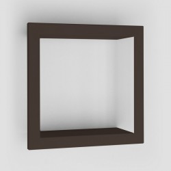 Presse Citron Bigstick Square Wall Shelf brown