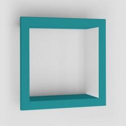 Presse citron bigstick metal wall shelf frame turquoise