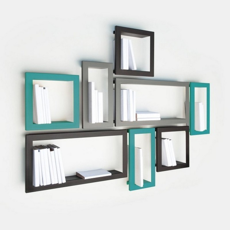 etagere cadre rectangulaire turquoise presse citron largstick. Black Bedroom Furniture Sets. Home Design Ideas