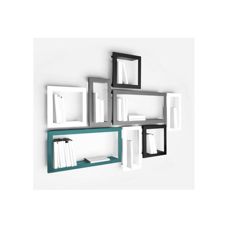 etag re murale cadre stick blanc presse citron. Black Bedroom Furniture Sets. Home Design Ideas