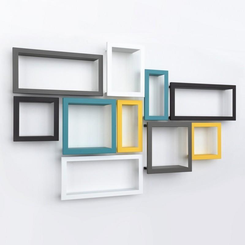 cadre tag re marron presse citron bigstick. Black Bedroom Furniture Sets. Home Design Ideas