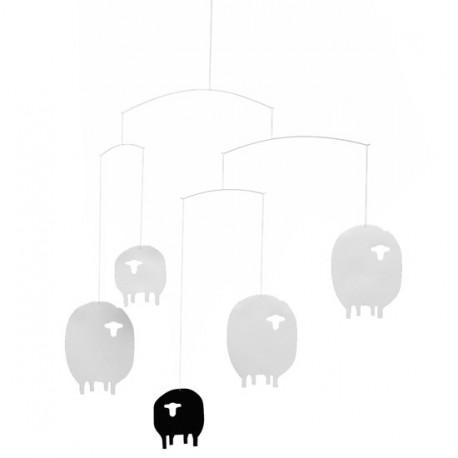 mobile-pour-berceau-moutons