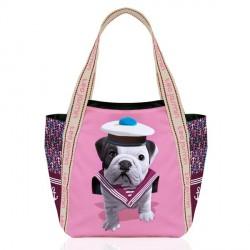 Teo jasmin Shopper Bolso para Mujer bolsa de verano/de playa sailor chamalow