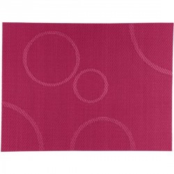 Bovictus Circles red table mat, placemat