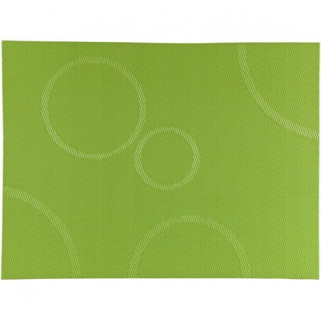 SET DE TABLE VERT CIRCLES