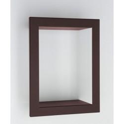 Presse Citron Big High Metal Shelf Frame brown