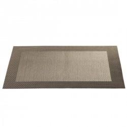 Set de table design bordé bronze asa