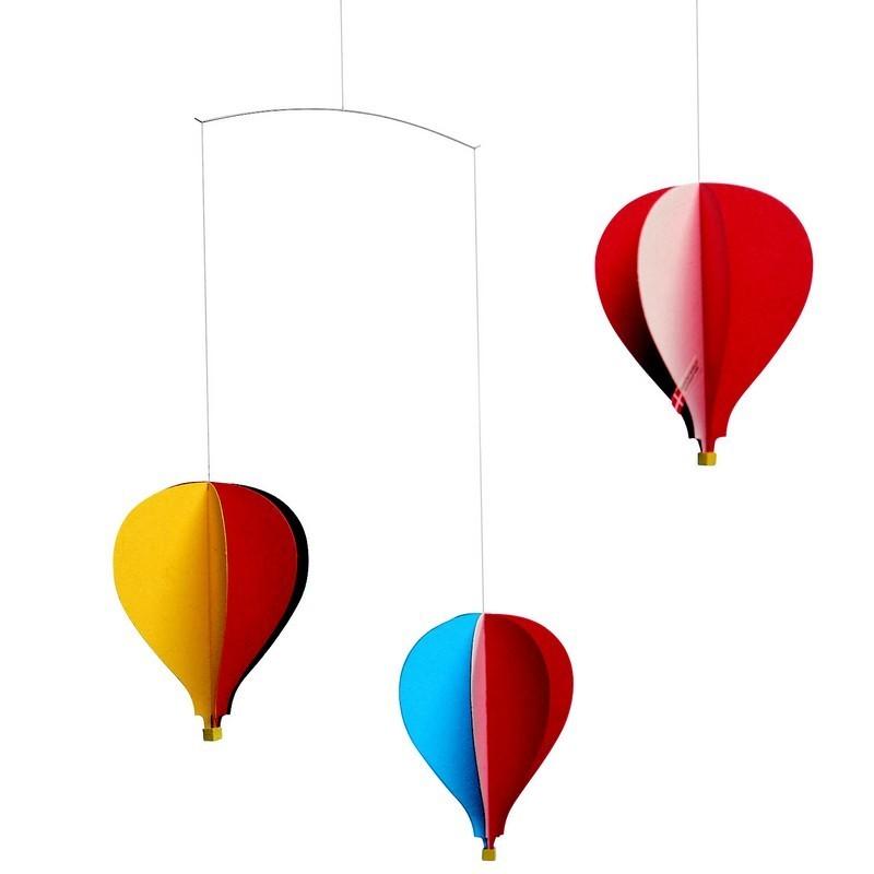 mobile montgolfi re 3 flensted. Black Bedroom Furniture Sets. Home Design Ideas