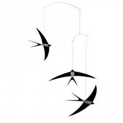 Flensted Mobile Flying Swallows