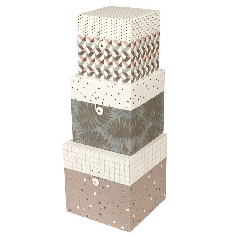 Harmony present time storage box set 3 - Kdesign