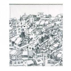 Rideau de douche design original opportunity district