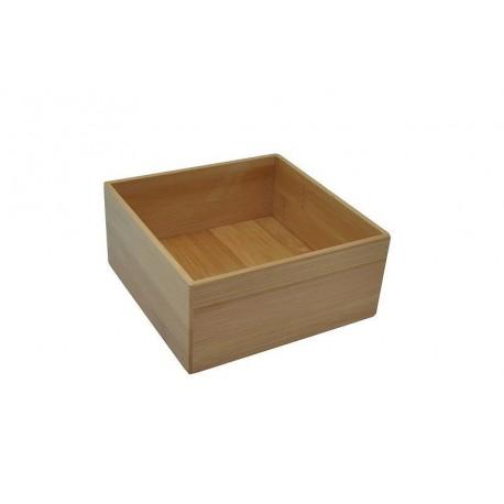 de rangement carrée bois bambou opportunity