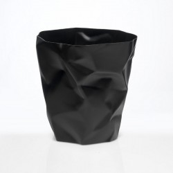 Poubelle froissée Bin Bin Mini Essey noir 25 cm