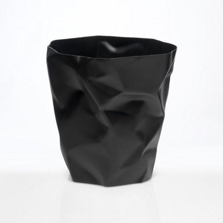 Poubelle froissée bin bin mini noire essey