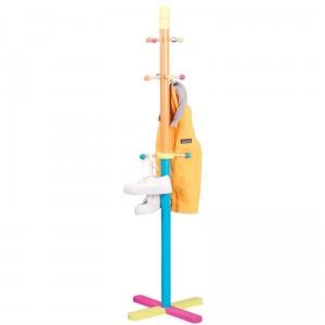 Porte-manteau sur pied pour enfant zeller multicolore