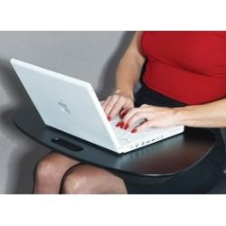 Plateau support pour ordinateur portable laptop noir